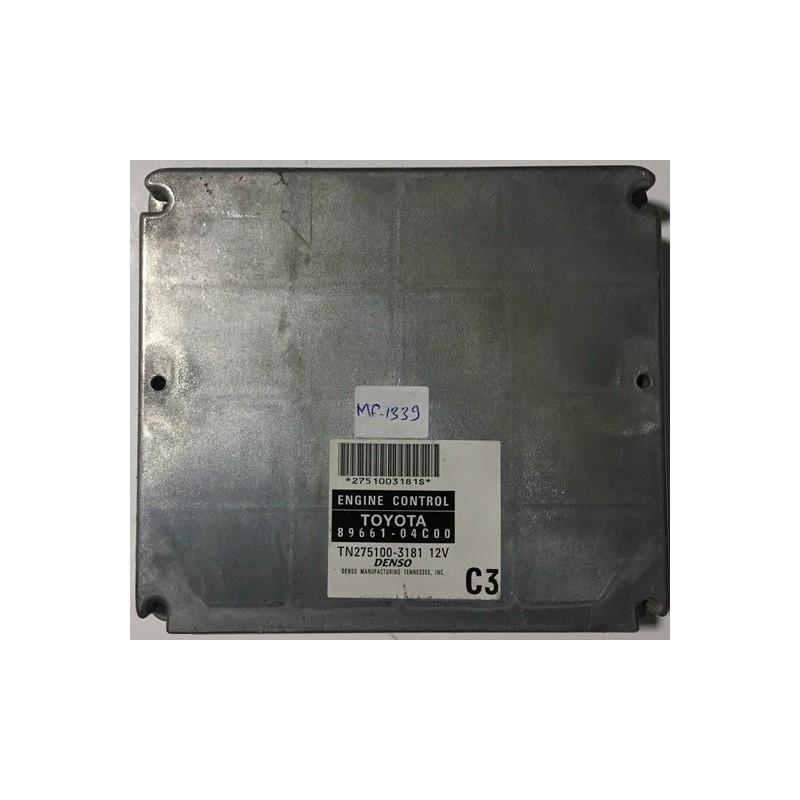 06 TOYOTA TACOMA 6CYL MT ECU ECM COMPUTER 89661-04C00