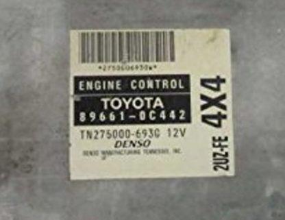 2003 Toyota Tundra ecm ecu computer 89661-0C442